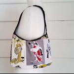 Shoulder Bag Japanese Cotton Small Bag Cotton Bag Retro Vintage Look Bag